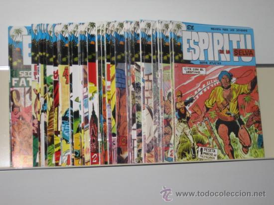 EL ESPIRITU DE LA SELVA COMPLETA 90 NUM. EDIT. MAGA - OFERTA - REEDICION (Tebeos y Comics Pendientes de Clasificar)