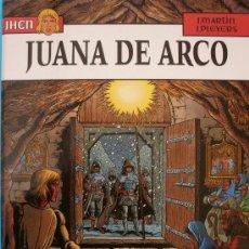 Cómics: J. MARTIN Y J. PLEYERS / JHEN / JUANA DE ARCO. Lote 30537507
