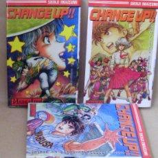 Comics : MANGA – CHANGE UP!! 1 2 3 COMPLETA – MANGALINE ED. AÑO 2001- LINE. Lote 30581081