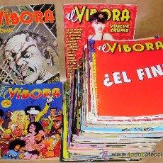 Comics: ----------- RESERVADO ------- EL VIBORA 263 289 ----------------------------. Lote 175955380