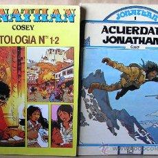 Cómics: COSEY --- ANTOLOGÍA; 1 PIES DESCALZOS…, 2 LA CUNA DE BODHISATTVA --- ACUERDATE JONATHAN -- Y SUELTOS. Lote 30685870