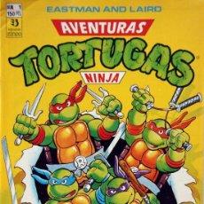 Cómics: Nº 1 TORTUGAS NINJA - AVENTURAS. Lote 128202298