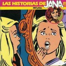 Cómics: LAS HISTORIAS DE JANA Nº5 (EL FANTASMA DEL ESPEJO). EDIT. SARPE, 1985. Lote 30708598