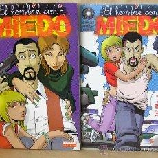Cómics: MAN / MIGOYA - EL HOMBRE CON MIEDO - COMPLETA - LA CÚPULA ED. AÑO 2001. Lote 30728559