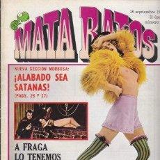 Cómics - MATA RATOS 23 - COMIC EROTICO 1976 - MATARATOS - GARBO EDITORIAL - 30868995