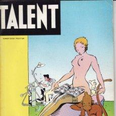 Cómics: TALENT. NR. 7. PETER PONTIAC,MOEBIUS,KLAUS STAECK,,ETC.1980. 66 PG. Lote 30871313