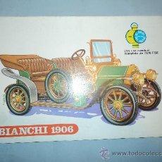 Cómics: BIANCHI 1906, COLECCIÓN EL COCHE DEL ABUELO. EDITORIAL PLANCTON 1969.. Lote 30957063