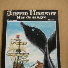Cómics: TTARTTALO. JUSTIN HIRIART Nº 1 EL MAR DE FUEGO. Lote 31026452
