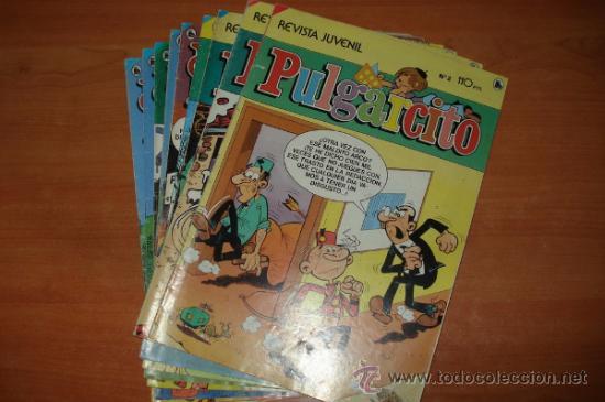 Cómics: Lote de 10 comics PULGARCITO SEMANAL. 3ª Epoca. Editorial Bruguera. - Foto 2 - 27546297