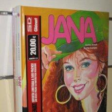 Cómics: JANA COMPLETA 3 TOMOS GLENAT OFERTA. Lote 128725356