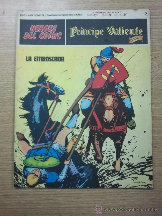 PRINCIPE VALIENTE #2 LA EMBOSCADA (Tebeos y Comics - Buru-Lan - Principe Valiente)