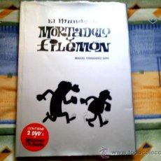 Cómics: EL MUNDO DE MORTADELO Y FILEMON, DE MIGUEL FERNANDEZ SOTO (DOLMEN,CARTONE CON SOBRECUBIERTA Y 2 DVD). Lote 31214161
