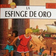 Comics: JACQUES MARTIN / ALIX / LA ESFINGE DE ORO. Lote 35782923