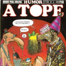 Cómics: A TOPE HUMOR EXTRA Nº8. Lote 31295958