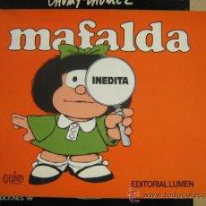 Cómics: LUMEN MAFALDA INEDITA 1ª ED. 1988. Lote 31379571