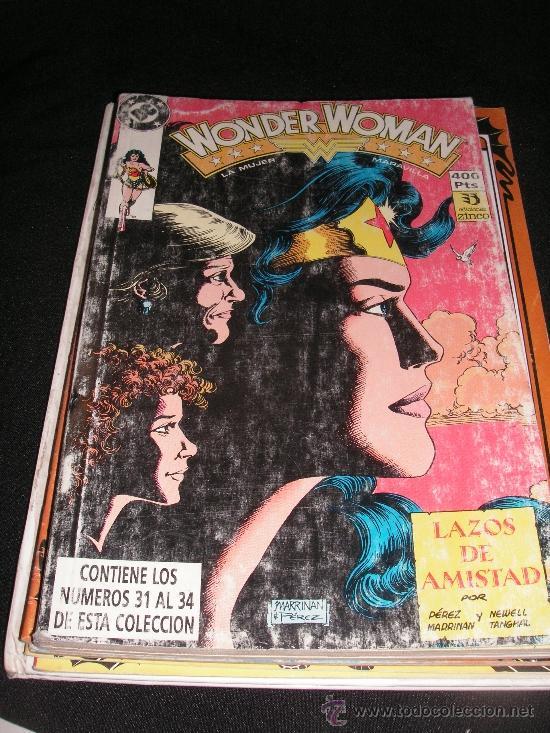 WONDER WOMAN Nº 31-34 (Tebeos y Comics Pendientes de Clasificar)