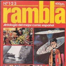 Cómics: RAMBLA - LOTE DE 10 TOMOS ( CONTIENEN Nº 1 AL 28 + 2 ESPECIALES. Lote 13488890