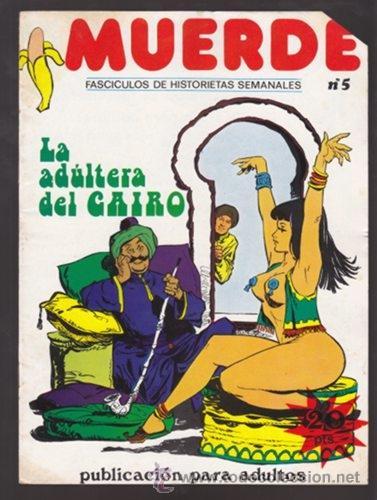 MUERDE 5 - LA ADULTERA DEL CAIRO - COMIC EROTICO (Tebeos y Comics - Comics otras Editoriales Actuales)