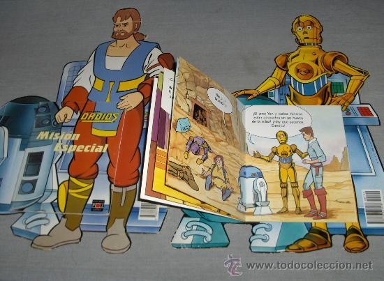 STAR WARS DROIDS 2 NºS TROQUELADOS. PLAZA JOVEN 1986. DIFICILÍSIMOS!!!!!!!!!!!!!!!!!!!!! (Tebeos y Comics - Comics otras Editoriales Actuales)