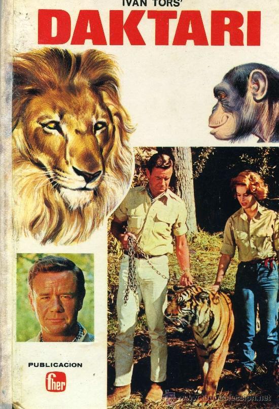 DAKTARI (EDITORIAL FHER, 1968) LIBRO RELATOS BASADO EN LA SERIE DE TV (Tebeos y Comics Pendientes de Clasificar)