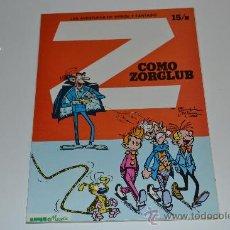 Cómics: LAS AVENTURAS DE SPIROU Y FANTASIO. COMO ZORGLUB 1980. Lote 31962122