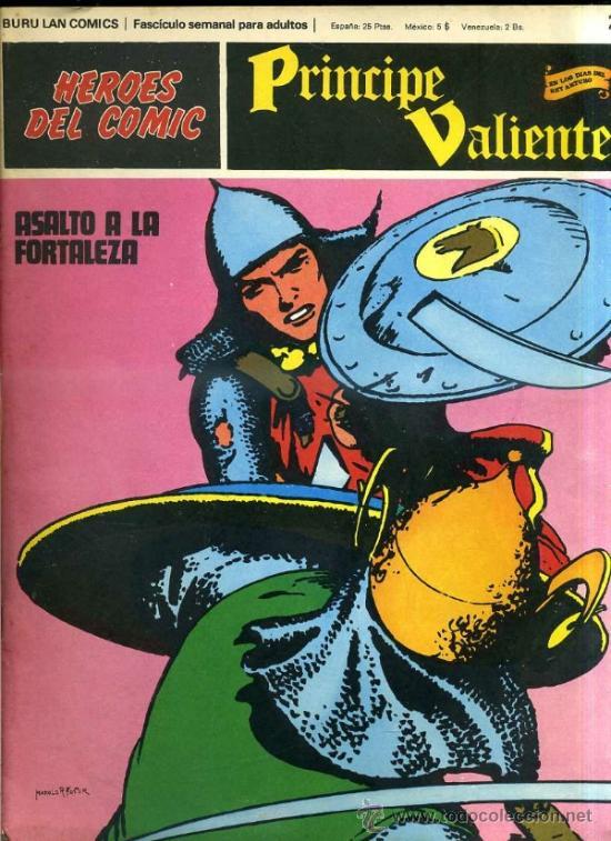 PRINCIPE VALIENTE Nº23 (Tebeos y Comics - Buru-Lan - Principe Valiente)