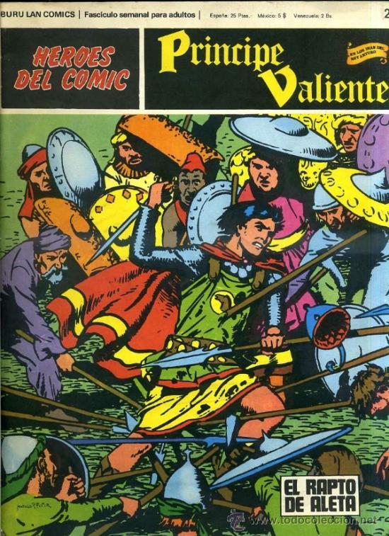 PRINCIPE VALIENTE Nº22 (Tebeos y Comics - Buru-Lan - Principe Valiente)
