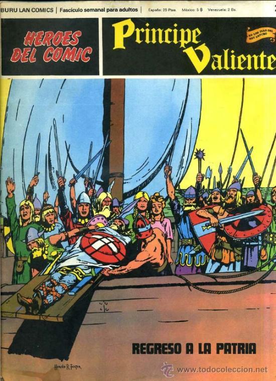 PRINCIPE VALIENTE Nº29 (Tebeos y Comics - Buru-Lan - Principe Valiente)