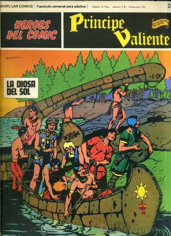 PRINCIPE VALIENTE Nº28 (Tebeos y Comics - Buru-Lan - Principe Valiente)