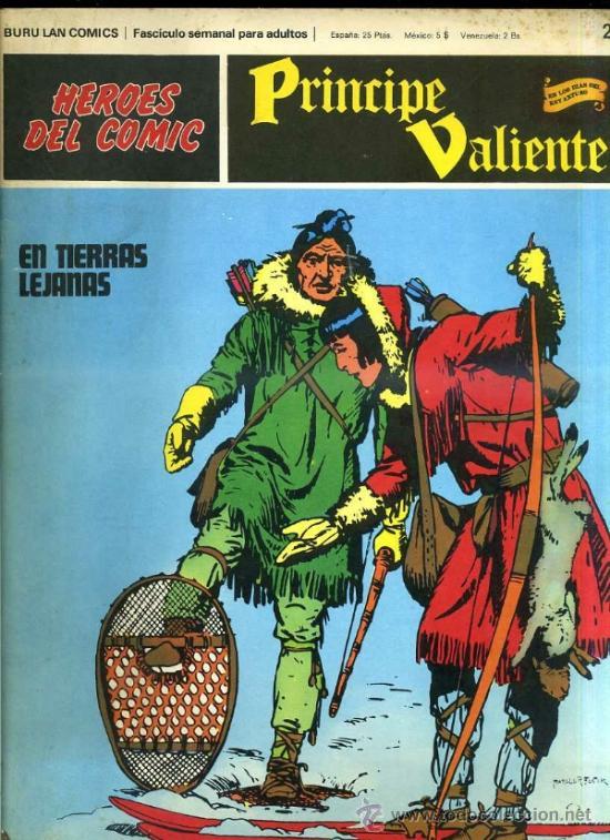 PRINCIPE VALIENTE Nº27 (Tebeos y Comics - Buru-Lan - Principe Valiente)