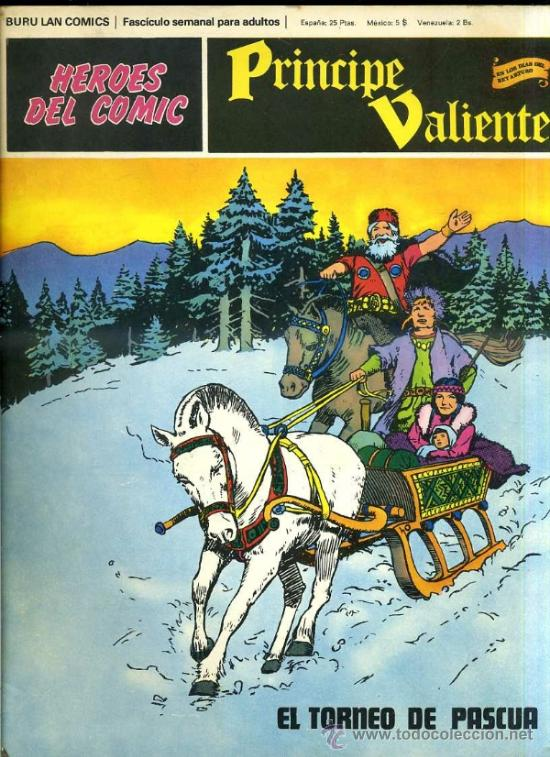 PRINCIPE VALIENTE Nº51 (Tebeos y Comics - Buru-Lan - Principe Valiente)