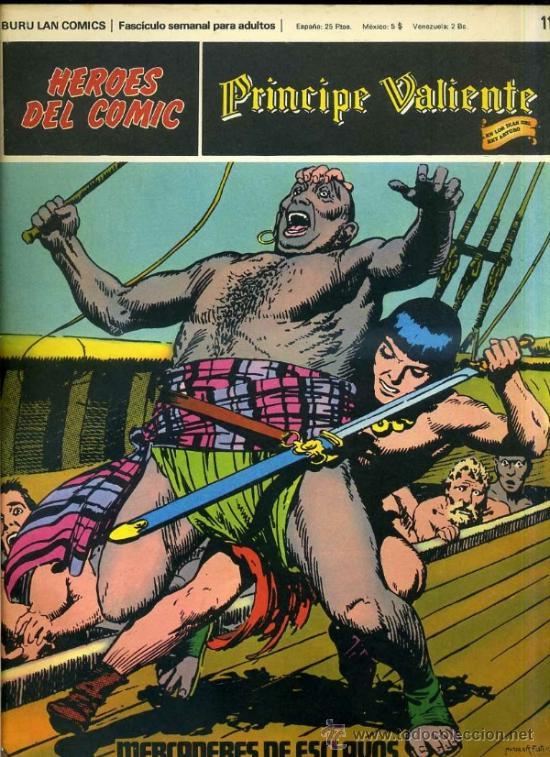 PRINCIPE VALIENTE Nº11 (Tebeos y Comics - Buru-Lan - Principe Valiente)