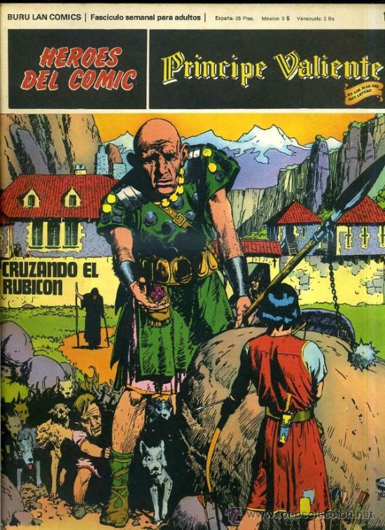 PRINCIPE VALIENTE Nº10 (Tebeos y Comics - Buru-Lan - Principe Valiente)