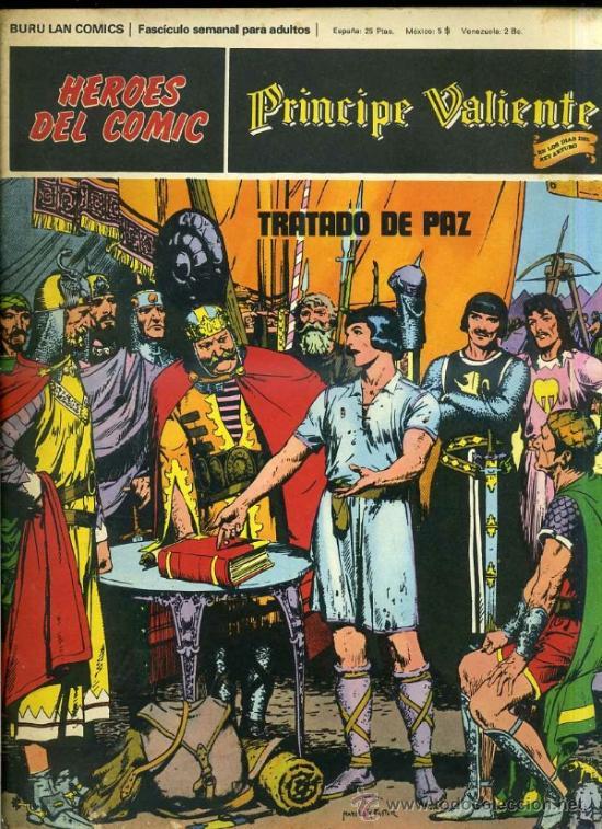 PRINCIPE VALIENTE Nº9 (Tebeos y Comics - Buru-Lan - Principe Valiente)