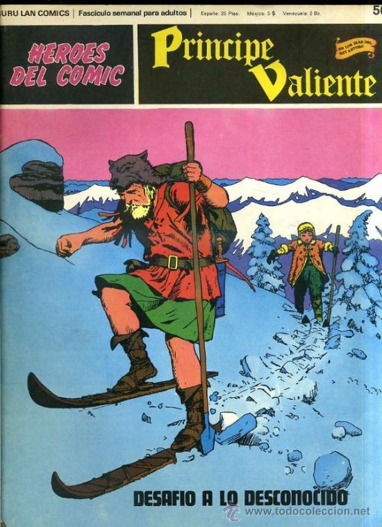 PRINCIPE VALIENTE Nº50 (Tebeos y Comics - Buru-Lan - Principe Valiente)