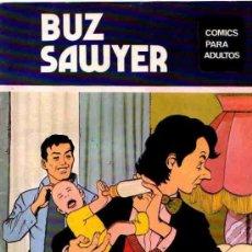 Cómics: BUZ SAWYER COLECCION COMPLETA 8 NUMEROS EDICIONES - MAISAL AÑO 1976. Lote 32050733