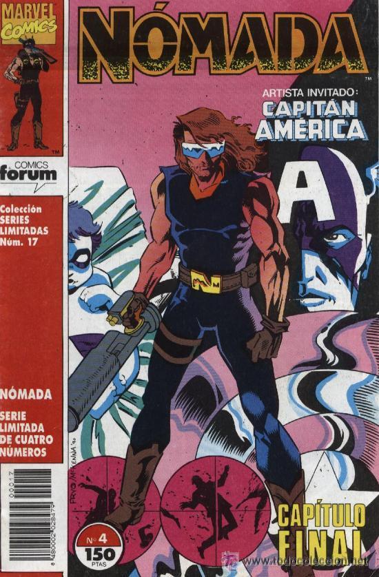 NÓMADA COLECCIÓN COMPLETA 4 NUMEROS - ED. FORUM 1993 (Tebeos y Comics - Comics Pequeños Lotes de Conjunto)