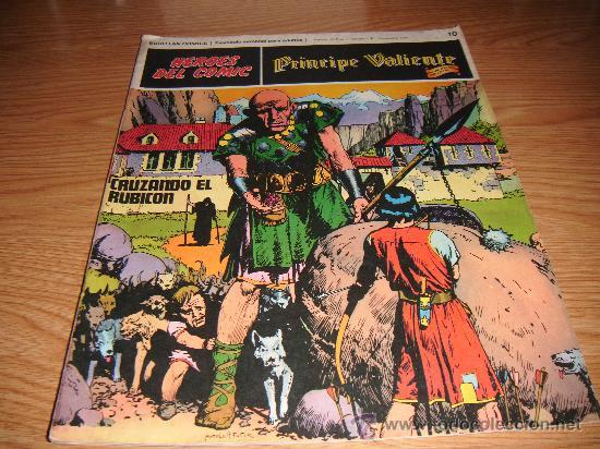 PRÍNCIPE VALIENTE, HÉROES DEL CÓMIC, TOMO 1, Nº 10, 1972 (Tebeos y Comics - Buru-Lan - Principe Valiente)