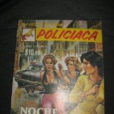 Cómics: LA FOCA ES AVENTURA Nº 5 POLICIACA NOCHE TRAGICA . Lote 32178382