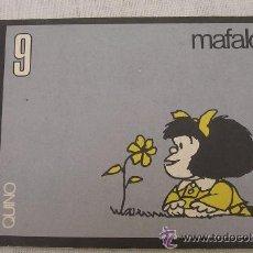 Cómics: MAFALDA NÚMERO 9; SERIE PARA ADULTOS; EDITORIAL LUMEN, 1970; VER DETALLES. Lote 49563265