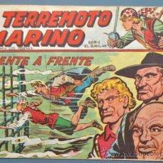 Cómics: EL TERREMOTO MARINO Nº 10. Lote 32261391