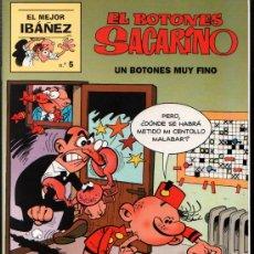 Cómics: EL MEJOR IBAÑEZ 5 - EL BOTONES SACARINO. Lote 32260573