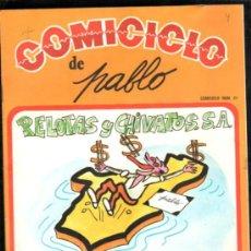 Cómics: COMICICLO DE PABLO 21, ADICIONES SEDMAY. Lote 32289341