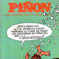Cómics: PIÑÓN, REVISTA INFANTIL MENSUAL, AÑO IV, Nº 54, 1974. Lote 32301569