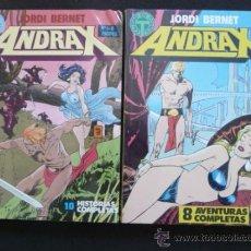 Cómics: ANDRAX. JORDI BERNET. COMPLETA EN DOS TOMOS. TOUTAIN. Lote 79955819