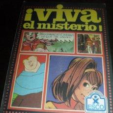 Cómics: VIVA EL MISTERIO. TAPA DURA. LIBROS INFANTILES ESCO. 1979.. Lote 32383560