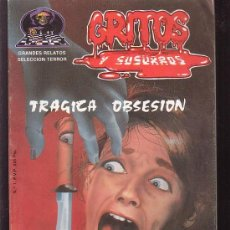 Cómics: GRITOS Y SUSURROS Nº 1 GRANDES RELATOS SELECCION TERROR. Lote 133846415