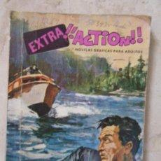 Cómics: COMIC . EXTRA¡¡ACTION!! EDICIONES PETRONIO. 1969. (3 CÒMICS:POLICÍACO, DE GUERRA Y DEL OESTE). Lote 32422750