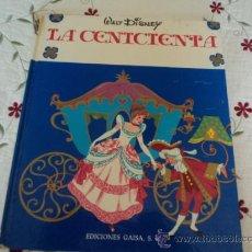 Cómics - La Cenicienta de Walt Disney. Ediciones Gaisa, Año 1968 - 32433449