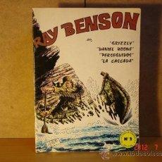 Cómics: RAY BENSON - GRIZZLY Y OTRAS - EDITORIAL AMAIKA N2 - 1982. Lote 32487948